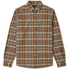 Beams Plus Check Button Down Oxford Shirt size M