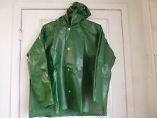 NEW!! Tingley Men's Green Polyurethane Rain Jacket with Hood, Size XL