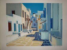 Jean-Claude Quilici Lithographie originale signée Num Corse Art Méditerranée