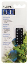 Hagen Marina  AQUARIUS Fish Aquarium LCD Thermometer  72-86F, 22-30 C