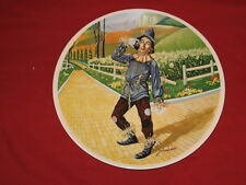 """The Wizard of Oz 1977 Knowles 8"""" Collector's Plate The Scarecrow"""