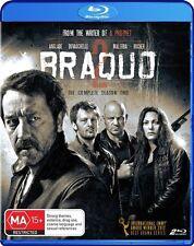 Braquo : Season 2 (Blu-ray, 2013, 2-Disc Set) Brand New & Sealed