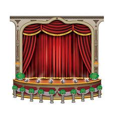 Beistle Black Tie Stage Awards Movie Night Party Wall Decoration 5', Drama, New