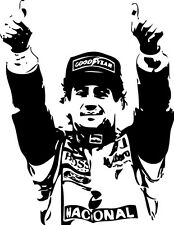 Sticker Ayrton Senna 104 - 57x74 cm