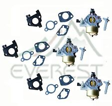 New 3 Pack Carburetor For GX340 11HP Honda Adjustable Free Gaskets & Insulator