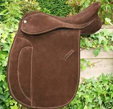 HERITAGE 100% ENGLISH SUEDE WORKING HUNTER SHOW SADDLE.CUSTOM MADE PERFECT FIT
