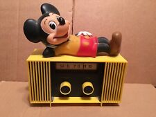 Mickey Mouse working  9volt battery radio