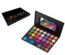 KARA 35 Color Eye Shadow Palette Highly Pigmented Bright Color & Base #ES11