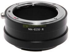 Adapter per obiettivi Nikon su fotocamera Canon EOS R. Adattatore.