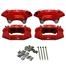 "PAIR OF FRONT JCW BREMBO STYLE BUDWEG CALIPER FITS: MINI R55/R56/R57 17"" JCW002A"