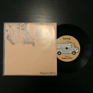 """TUNNG - MAGPIE BITES (RARE NUMBERED 7"""" VINYL) SLOW03"""