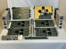 Evertz Multiveiwer Input & Output Cards with Backplanes and Power Supplies