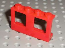 Fenetre rouge LEGO red Window ref 4863 / Set 6392 1720 6643 4031 7046 ...