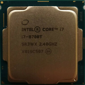 Intel® Core™ i7-8700T Processor 12M Cache, up to 4.00 GHz  #2