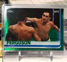 2019 Topps UFC Chrome Tony Ferguson GREEN #17/99!!! Insert