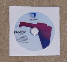 Filemaker Pro 13 (PC and Mac) Sealed /NEW/. Full Installation! Quick Shipment!