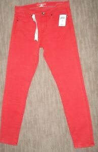 LUCKY BRAND Stretch Mid Rise SOFIA Super SKINNY JEANS Womens Size 8 / 29  NEW