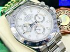 Rolex Daytona 116520 Box & Papers 2004 Stainless Steel White Dial Mens Watch