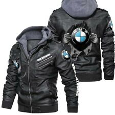 BMW Motorrad- Leather Jacket, Best gift,New jacket-HALLOWEEN-SKULL SO COOL