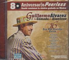 Guillermo Alvarez y su comoda de alambres 16 Grandes Exitos New Nuevo Sealed