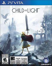 Child of Light [Sony PlayStation Vita PSV, Ubisoft Fantasy RPG Classic] NEW