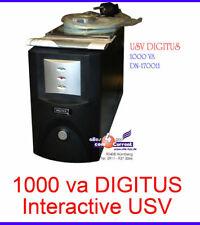 1000va Ups Gruppo di Continuità Digitus Dn-170011 per Computer Server con Rs-232