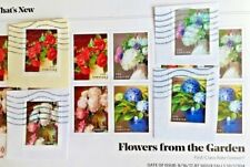 2017 Stamps: US SC#5233-5236: One Full Set of 4 Stamps: Flowers from the Garden