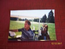 Nick Saban 4x6 Picture Golfing In Ann Arbor, MI Bo Schembechler Golf Outing