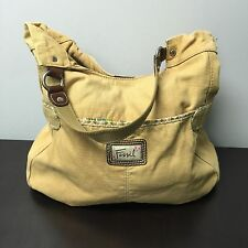 AUTHENTIC FOSSIL LARGE TAN SHOULDER BAG/TOTE