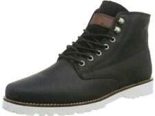 QUICKSILVER Gage AQYB700009 Leather Lace-up Boots Black Size uk 5 eu 39