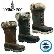 NEW LADIES WARM SNOW WINTER WATER RESISTANT MUCKER THERMAL WELLINGTONS FUR BOOTS