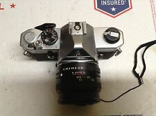 Pentax MX  35mm SLR Film Camera Body With 50mm f1.7 Lens