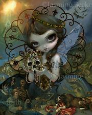 Jasmine Becket-Griffith art print dark fairy angel SIGNED Unseelie Court: Greed