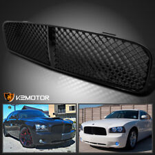 2006-2010 Dodge Charger Black Mesh ABS Front Upper Bumper Grill Grille