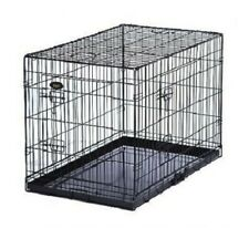 PGO Small Pet Training Cage - Black
