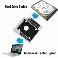 SATA 9.5MM 2ND HDD SSD HARD DRIVE CADDY CASE FOR UNIVERSAL LAPTOP CD / DVD-ROM