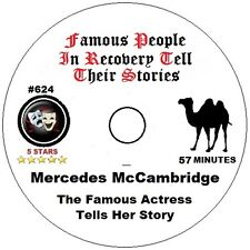 Alcoholics Anonymous AA Speaker CD - Mercedes McCambridge Tells Her Story
