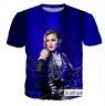 New Women/Men 3D Print Popular Singer Madonna  Casual T-Shirt Short Sleeve Tops
