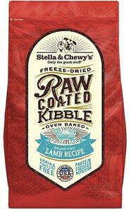 Stella Chewy Raw Coated Lamb Kibble 3.5 lb