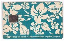 Polynésie française - Chip Phonecard - PF017a Paréo Bleu CN-C41200731 - Usagée