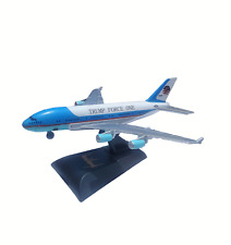 Trump Air Force One Airplane Model & Signed Stand KEEP AMERICA GREAT *Christmas*