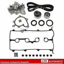 Mazda FS 2.0L HNBR Engine Timing Belt Kit Seal Water Pump Valve Cover Gasket Set
