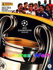 PANINI Champions League 2014/2015 14 15 ALBUM + KOMPLETTER LOSER SATZ