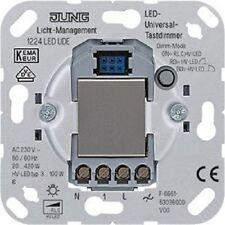 JUNG LED Dimmer-Einsatz Typ 1224 LED UDE Tastdimmer uP  LED/Halogen - universal