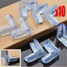 10x Soft Baby Safe Cushion Protector Table Desk Corner Protective Guard  Clear