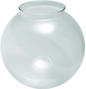 """KastLite 6"""" Acrylic Lamp Post Globe with 3.14"""" Fitter Neck"""