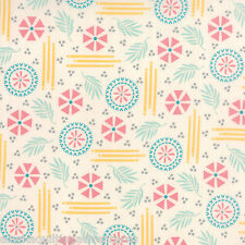 MODA Fabric ~ BRIGHT SUN ~ by A Quilting Life  (37500 11) Bisque - by 1/2 yd