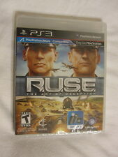R.U.S.E. The Art of Deception PS3 (PlayStation 3) Brand New, Sealed~