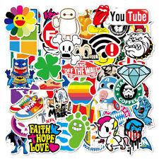 100X Random PVC Stickers Cool Vinyl Decal Graffiti Sticker Bomb Skate Laptop UK