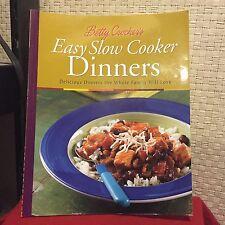 Betty Crocker Cooking: Betty Crocker's Easy Slow Cooker Dinners Free Shipping